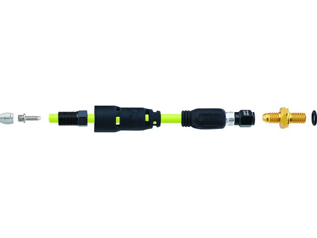Jagwire Pro QF Kit de raccordement pour SRAM Guide Level Tl/Db5 | Avid Elixir R/CR Mag/Wc, black